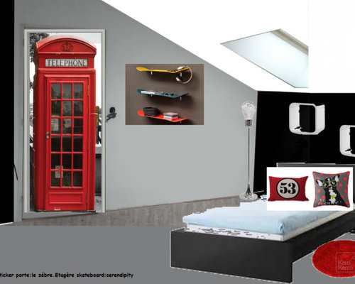 d coration chambre adolescent e. Black Bedroom Furniture Sets. Home Design Ideas