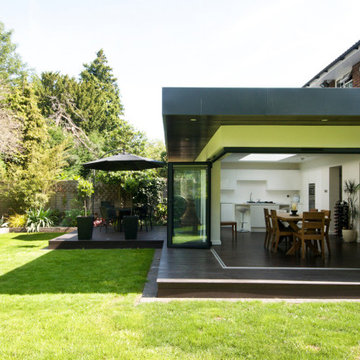 Large cantilevered extension in Beckenham