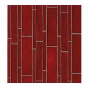 Fancy Decorative Linear Glass Rouge Retrospect Mosaic