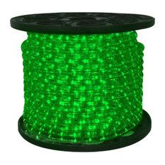 C-Rope-Led-Gr-1-10-12V   - 10Mm 12 Volt 150' Spool Of Green LED Ropelight