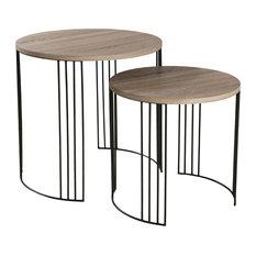 Julia Round Nesting Tables, Set of 2