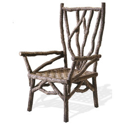 Superb Rustic Outdoor Dining Chairs by Lazy CF Ranch