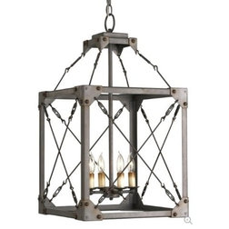 Elegant Industrial Chandeliers by A Touch of Design