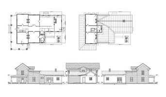 Bertie Count NC - Drawings for Historic Renovation submittal