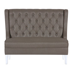 pulaski glam upholstered banquette settee indoor chaise lounge chairs chaise lounge sofa