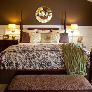 Master Bedroom Brown and Cream