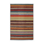 Santa Monica Striped Outdoor Rug, Multicolor, 5