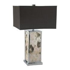 Cyan Design Bark 1-Light Table Lamp, Polished Chrome