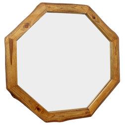 Rustic Wall Mirrors by Haussmann Inc.