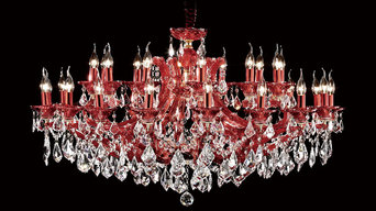 Scarlet Asfour Crystal Chandeliers