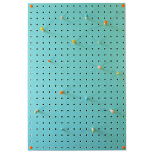 Block Medium PegBoard, Light Blue