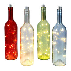 Bottle With LED Lights, Blue