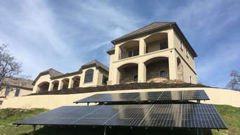 Large Residental Ground Mount SunPower Solar Array