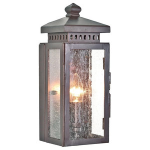 Outdoor Wall Lantern, Old Bronze Finish
