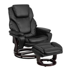Flash Furniture BT-70222-BK-FLAIR-GG Black Bonded Leather Recliner