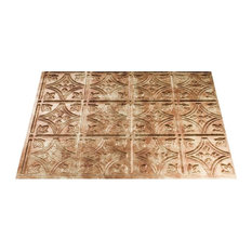 Acoustic Ceiling Products Traditional 1 Panel, 5-Pack, Bermuda Bronze