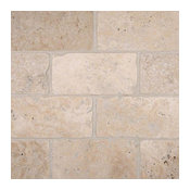 Tuscany Beige 3X6 Tumbled, Travertine,
