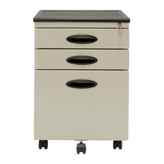Studio Designs   Studio Designs Home Office File Cabinet, Putty/Black   Filing  Cabinets