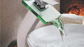 Designer  Glass Faucets