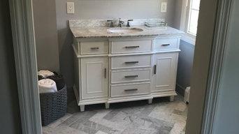Master bath remodel south side poughkeepsie