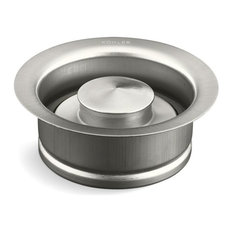 Kohler Disposal Flange with Stopper, Brushed Stainless