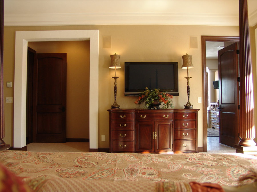 Master Suite Television Installation