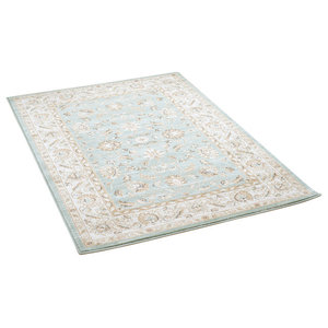 Ziegler 7709 Light Green Cream Rectangle Traditional Rug 80x150cm