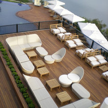 Hardwood Decking design ideas and nicely executed decking projects