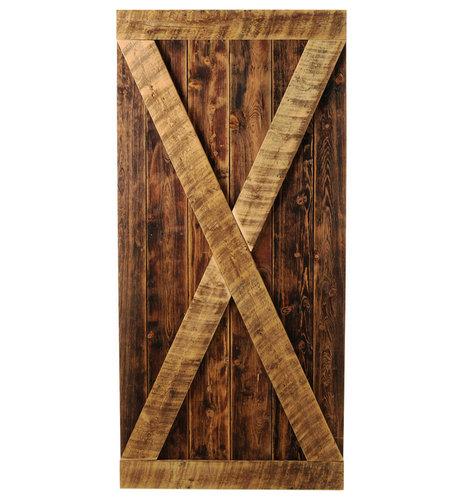 Big Sky Barn Doors - Madison Door, Unfinished, 38x81 - Interior Doors