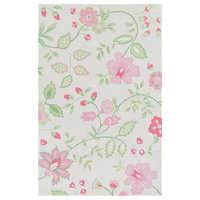 Skidaddle Area Rug in Pink And Pink