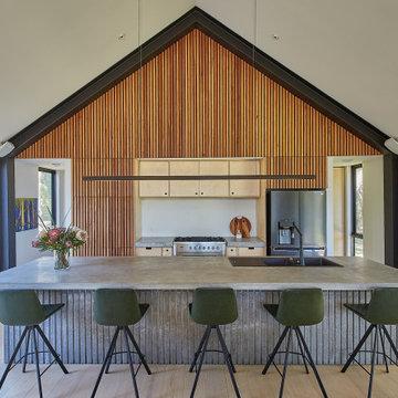 Contemporary Australian Cabin Kitchen