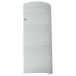 Besa Lighting 8192KR-LED Torre 1 Light ADA Compliant LED Wall Sconce