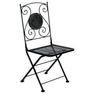 Bowery Hill Patio Chair in Black