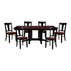 Palettes By Winesburg 7-Piece Dining Table Set With Bakersfield Side Chair