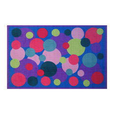 "Fun Rugs Fun Time Collection Poppin' Bubbles Area Rug, 39""x58"""