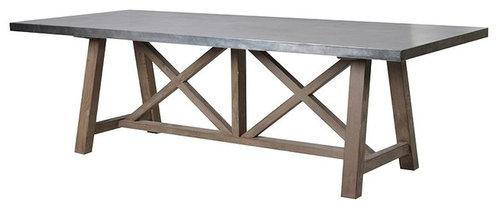 Xフレーム ダイニングテーブル - ダイニングテーブル