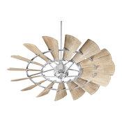 Windmill 60 in. Indoor Ceiling Fan in Galvanized
