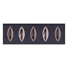 Easy Clean Feathers Doormat, Large