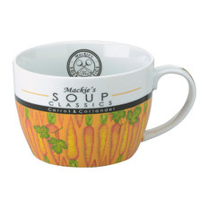 Mackie's Tomato & Basil Soup Mug by Clare Mackie for BIA, Carrot & Coriander
