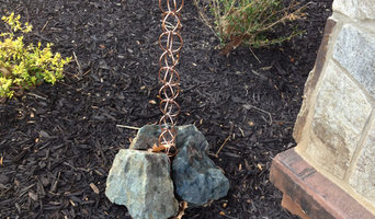 Rain Chain Stone Anchor