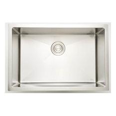 Laundry Sink for Deck Mount Faucet, Chrome