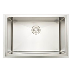 Laundry Sink for Deck Mount Faucet in Chrome Finish