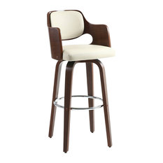 Novita Cream Bar Stool