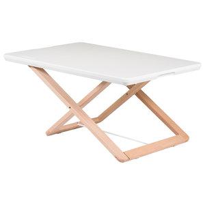 Compact Desk Riser, White