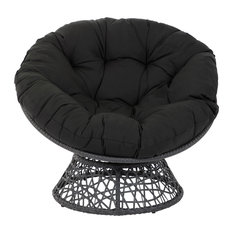 Papasan Chair, Black