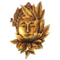 Design Toscano QS34819 Enlightened Deities Wall Sculpture - Guan Yin