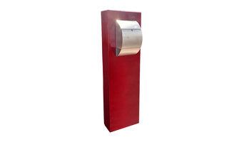 Modern Steel & Concrete Mailbox C4