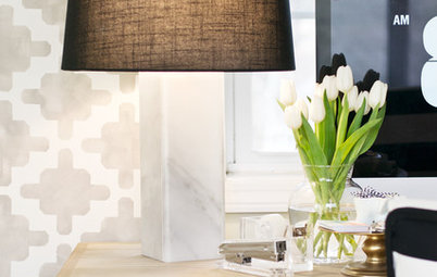 Make a Marble Lamp Base With Tile