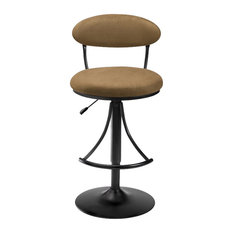 Hilale Furniture Venus 24 Inch To 30 Adjule Swivel Bar Stool