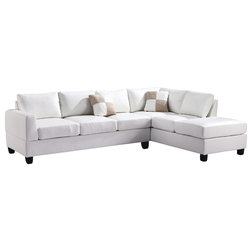 Transitional Sectional Sofas by Glory Furniture